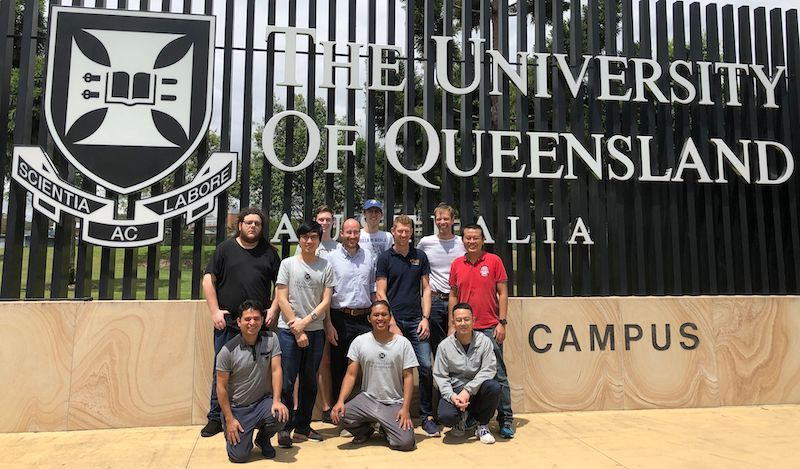 ielab group members at The University of Queensland.